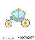 馬車 ベクター マンガのイラスト 40970257