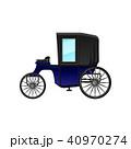 馬車 ベクター マンガのイラスト 40970274