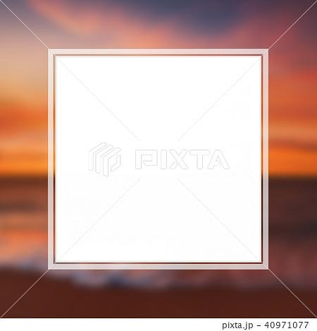 背景-南国-海-空-フレーム 40971077