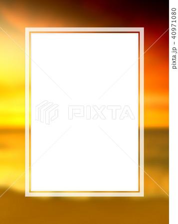 背景-南国-海-空-フレーム 40971080