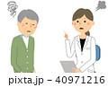 医者 診察 問診のイラスト 40971216