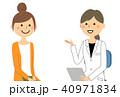 医者 女性 診察のイラスト 40971834