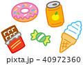 おやつ スイーツ 菓子のイラスト 40972360