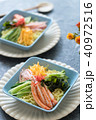 冷やし中華 食べ物 料理の写真 40972516