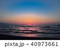海 夕焼け 海岸の写真 40973661