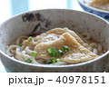 きつねうどん うどん 料理の写真 40978151