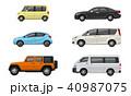 自動車セット 40987075