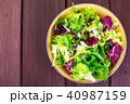 サラダ 爽やかな 新鮮の写真 40987159