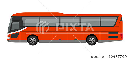 観光バス、高速バス、夜行バス 40987790