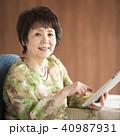 タブレットPC 操作 インターネットの写真 40987931