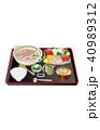 今日のご飯鯛飯と豚汁 40989312