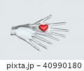 ハート ハートマーク 心臓のイラスト 40990180