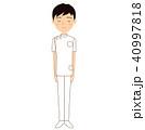 男性 若い 看護師のイラスト 40997818