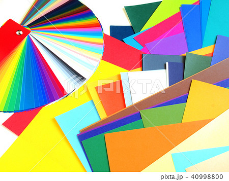 配色カード トーナルカラー 色見本 40998800