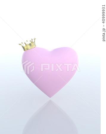 CG イラスト 王冠 クラウン 順位 ランキング ハート 40999931