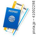 トラベル パスポート 旅券のイラスト 41002298