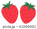 切り絵 果物 苺 イチゴ 41006001