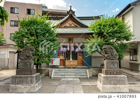 穏田神社 41007893