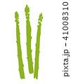 アスパラ アスパラガス 野菜のイラスト 41008310