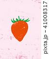 苺 果物 フルーツのイラスト 41008317