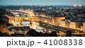 ベッキオ橋 街 フィレンツェの写真 41008338