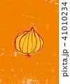 玉葱 野菜 水彩画のイラスト 41010234