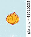 玉葱 野菜 水彩画のイラスト 41010235