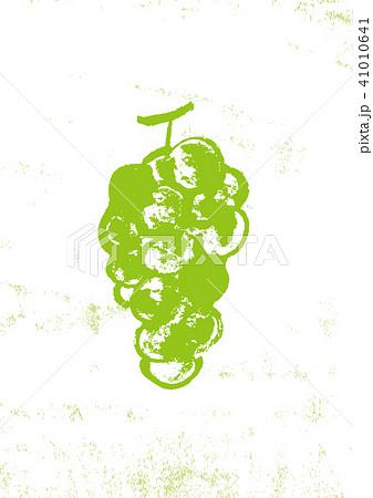 ぶどう 葡萄 水彩画 手描き 41010641