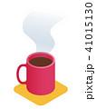 カップ コーヒー アイソメトリックのイラスト 41015130