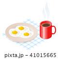 たまご 卵 玉子のイラスト 41015665