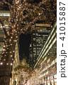夜 都市 建物の写真 41015887
