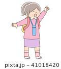 人物 女の子 幼児のイラスト 41018420