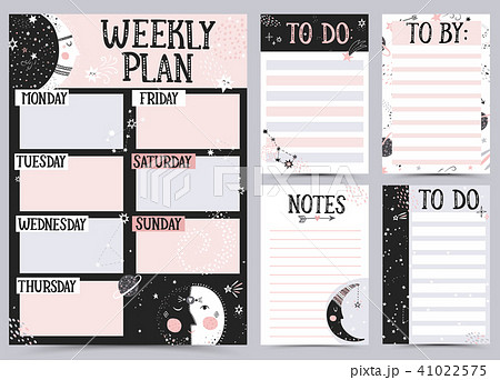 Weekly and Daily Planner. 41022575