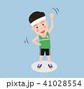 マンガ 漫画 エクササイズのイラスト 41028554