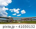 風景 首都高速道路 晴れの写真 41030132