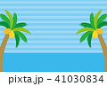 ヤシの木と海の背景 41030834
