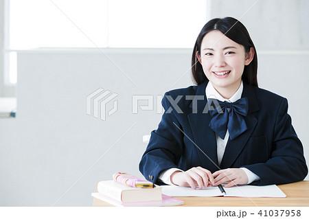 高校生 女性 女の子 勉強 受験 教育 学習 41037958