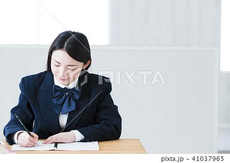高校生 女性 女の子 勉強 受験 教育 学習 41037965