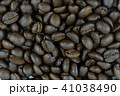 pile of roasted coffee beans. 41038490