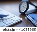 キーボード 腕時計 時計の写真 41038965