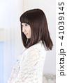女性 女の子 ヘアスタイルの写真 41039145
