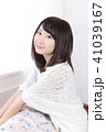 女性 女の子 ヘアスタイルの写真 41039167