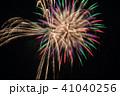 花火 牡丹と柳 41040256