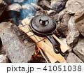 たきびでスキレット料理 41051038