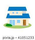住宅 一戸建て 一軒家のイラスト 41051233