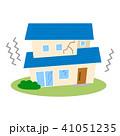 住宅 一戸建て 災害のイラスト 41051235
