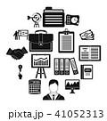 商売 アイコン セットのイラスト 41052313