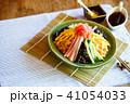 冷やし中華 夏の味覚 麺類の写真 41054033