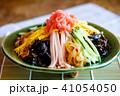 冷やし中華 夏の味覚 麺類の写真 41054050