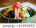 冷やし中華 夏の味覚 麺類の写真 41054053